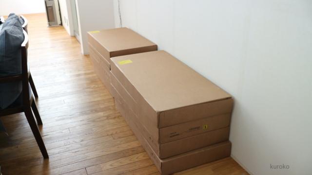 イケアおまかせ配送サービスを依頼して届いた荷物