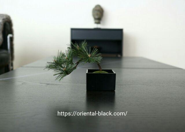 自作のフェイク盆栽の画像