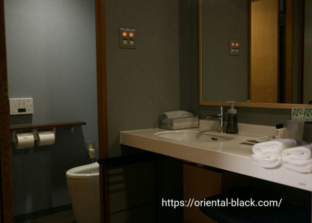 有馬温泉スパテラス紫翠の洗面トイレの画像