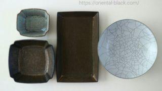 五条坂陶器まつりで購入した器の画像