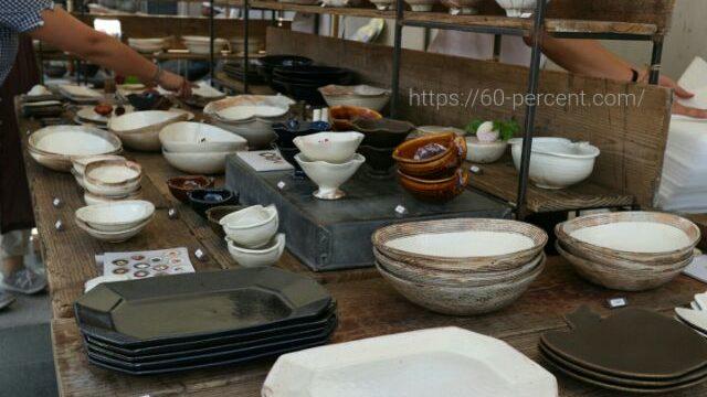 五条坂陶器まつりの作家さんの器の画像