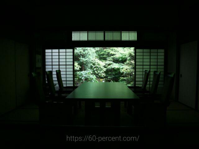 南禅寺の万丈庭園の部屋の画像