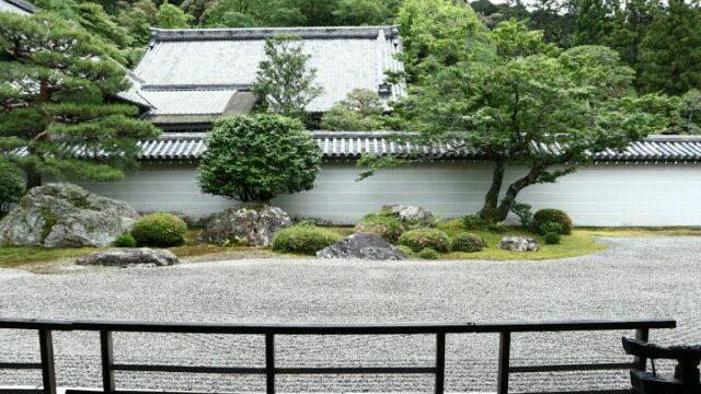 南禅寺の万丈庭園の画像