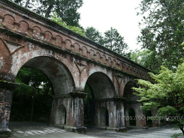 南禅寺の水路閣の画像