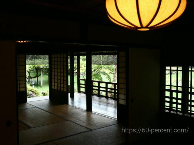 旧九條家庭園(拾翠亭)1階部屋の画像