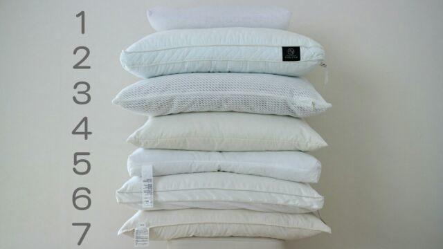 今まで使ってきたニトリ・無印の枕の画像