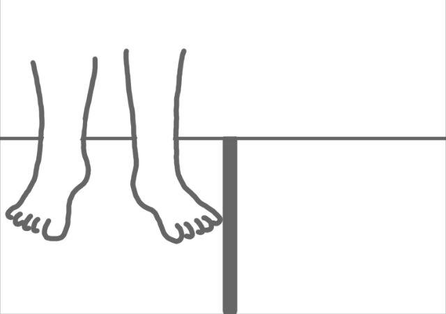 位置感覚のズレのチェックの仕方3