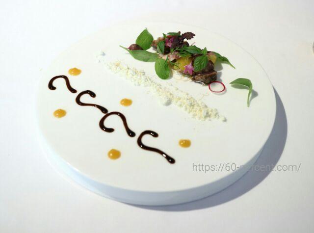 貴匠桜のランチ料理の画像
