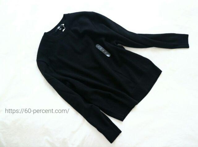 ユニクロのカシミヤセーターの画像