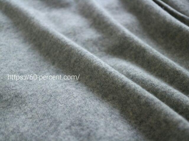 洗濯機にかけたユニクロのカシミヤセーターの画像