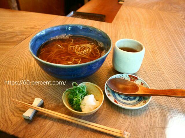 紫野 和久傳五のお蕎麦の画像