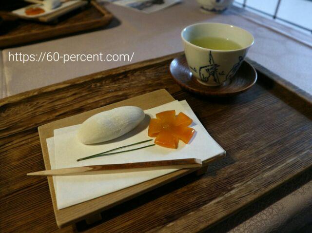 白沙御膳のお菓子の画像