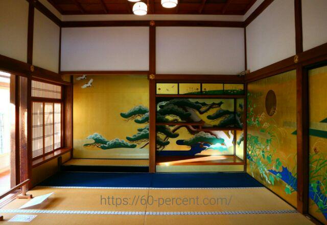 圓徳院の襖絵の画像