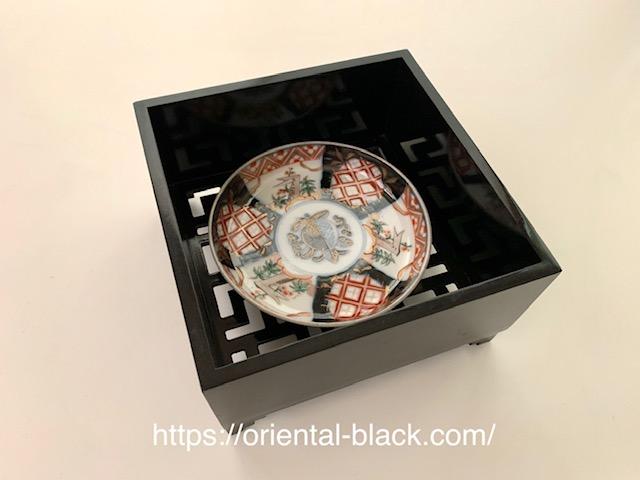 天王寺骨董市で購入したお皿の画像