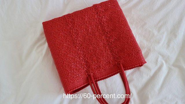 メルカドバッグ(ROMBO)赤の画像