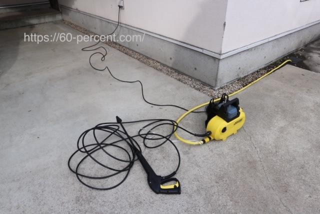 高圧洗浄機ケルヒャーの画像
