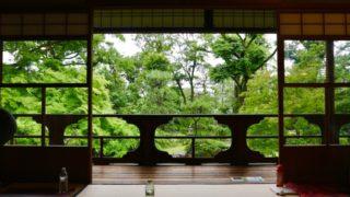 旧三井家下鴨別邸でヨガの画像