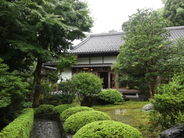 鈴虫寺の外観の画像