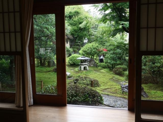 鈴虫寺の庭の画像