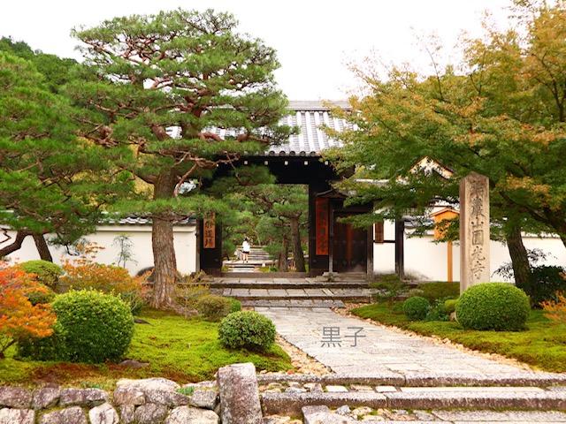 圓光寺の入り口の画像