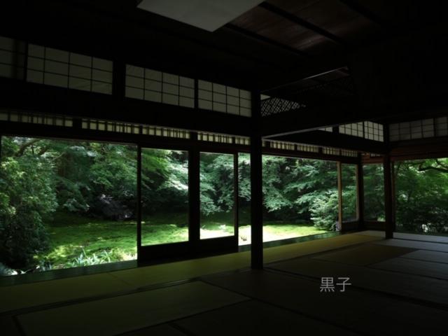 瑠璃光院の瑠璃の庭の画像