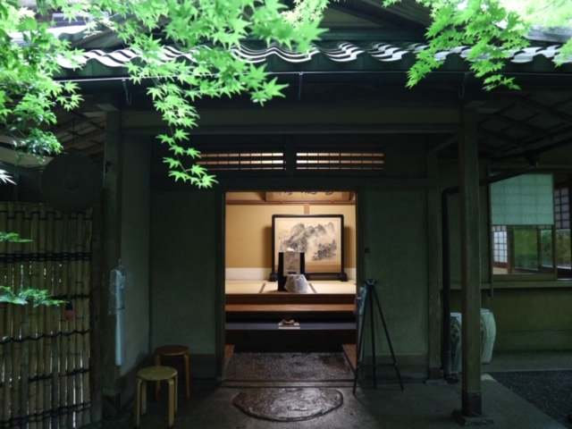 瑠璃光院の玄関の画像