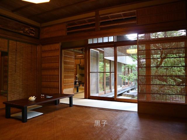 茶寮 宝泉の室内の画像