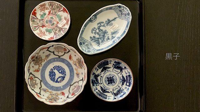 東寺がらくた市で購入したお皿の画像