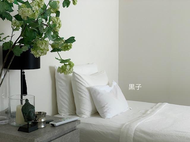 わが家の寝室の写真