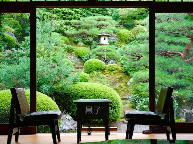 旧邸御室の庭園の画像