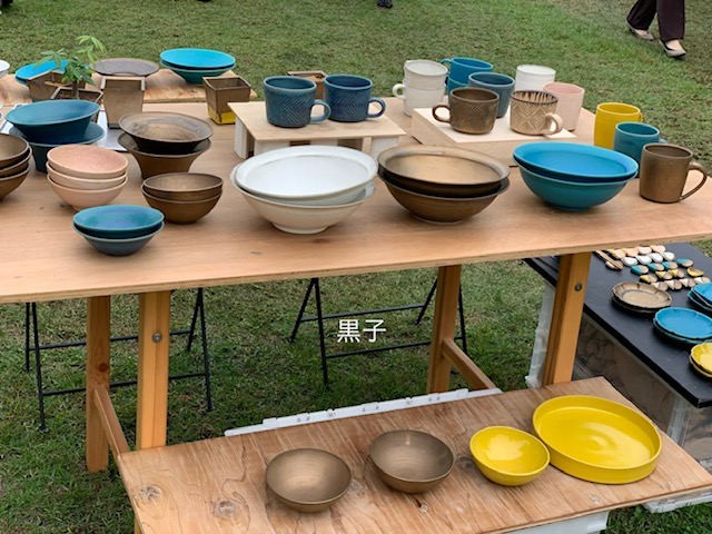 信楽の陶器市の作品の画像