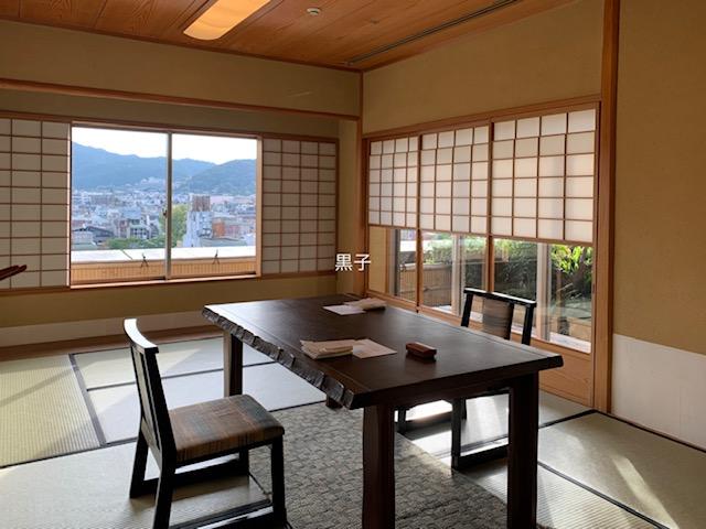 京都ホテルオークラの入舟の個室の画像