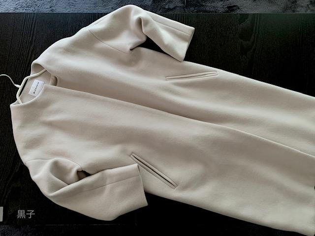 毛玉クリーナーで復活したコートの画像