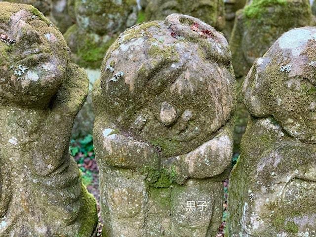 愛宕念仏寺の羅漢像の画像