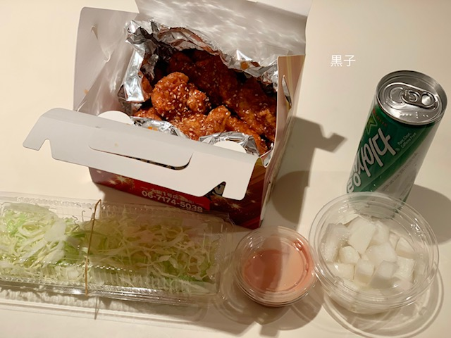 鶴橋ネネチキンで買ってきたチキンの画像