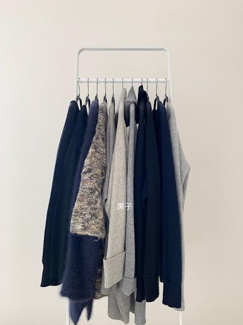 2021年手持ちの冬服の画像