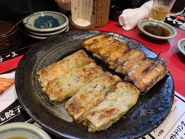 北新地の餃子店「包屯」の餃子の画像