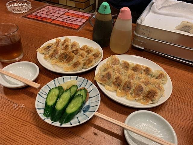 北新地の餃子店「天平」の餃子の画像