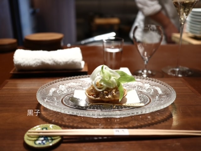 北新地「緒乃」の料理の画像