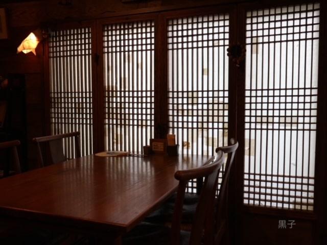 出町柳「李青」内観の画像