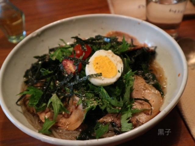 出町柳「李青」韓国冷麵の画像