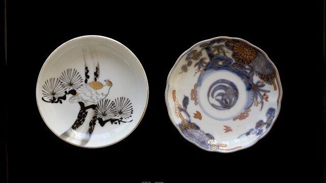 四天王寺骨董市で買ってきた皿の画像