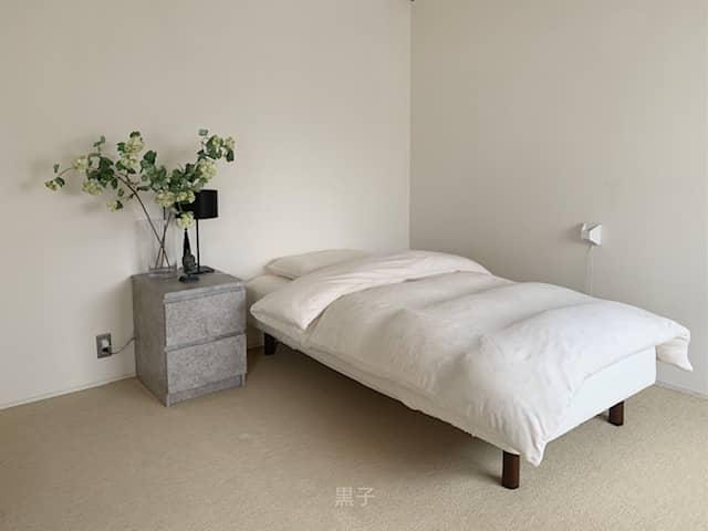 わが家の寝室の画像