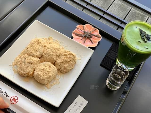 虎屋菓寮の和菓子あべかわ餅の画像