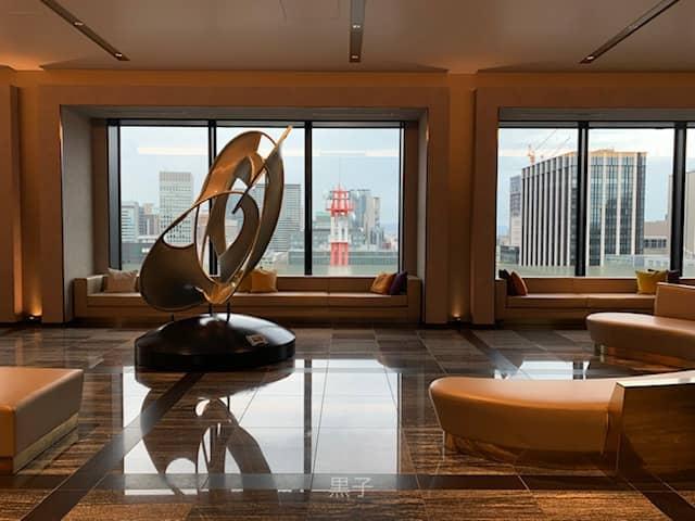 ザロイヤルパークホテルアイコニック大阪御堂筋のロビーの画像