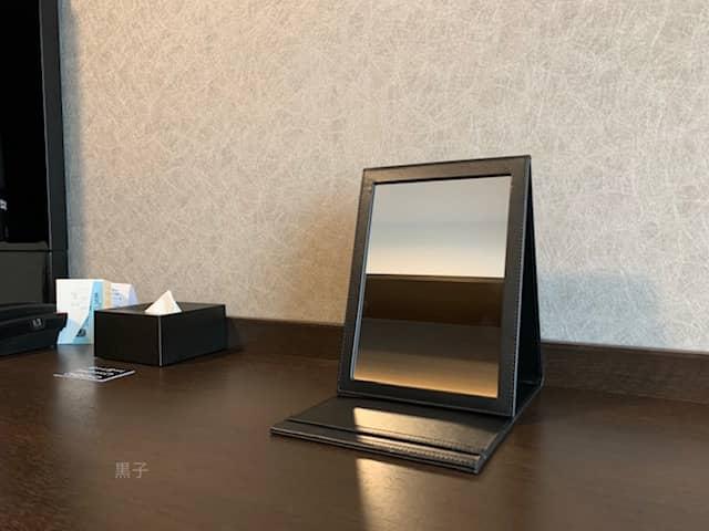 ザロイヤルパークホテルアイコニック大阪御堂筋の鏡の画像